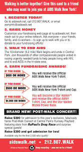 Fundraising Invitation Card Download Tools Aids Walk New York
