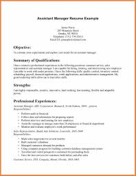 Targeted Resume Examples by Assistant Manager Resume Sample Resume For Your Job Application