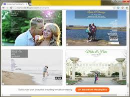 the best wedding websites the best wedding website editors with free rsvp and registry