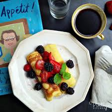 bon appetit book in the vintage kitchen