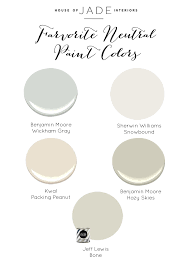 our favorite neutral paint colors house of jade interiors blog