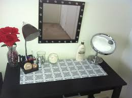 Modern Vanity Table Modern Vanity Table With Lighted Mirror Home Decorations