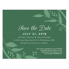 save the date cards free classic greenery plantable save the date card plantable seed