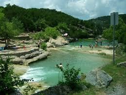 Oklahoma traveling tips images Turner falls ok looking downriver from the falls look jpg