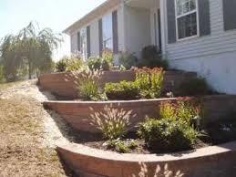 raised beds flower garden retaining wall orserlandscaping com