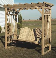 garden arbor swing ana white build a outdoor bench with arbor
