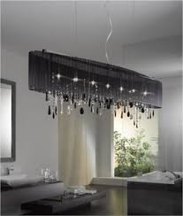 Shaded Crystal Chandelier Modern Chandeliers Something Different Lighting Styles