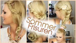 Hochsteckfrisurenen Ohne Haargummi by Frisuren Für Den Sommer Einfach Und Süß