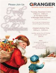 remarkable christmas party invitations email template features