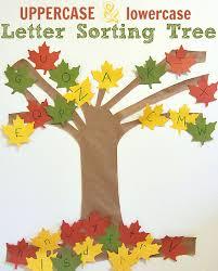 letter sorting tree alphabet activity