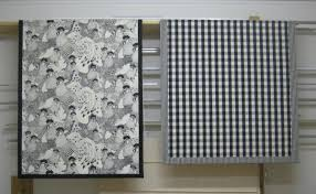 Fabric Roman Blinds Roman Blinds Own Fabric Calico Blinds