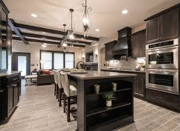 Espresso Cabinets Kitchen What Color Hardwood Floor With Espresso Cabinets For