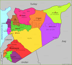 Map Of Syria by Syria Map Map Of Syria Annamap Com