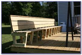 how to build deck bench seating deck bench seating ideas yard ideas pinterest decking and bench