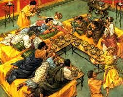 banchetti antica roma a tavola con gli antichi romani il rito banchetto eventi a