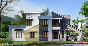Homedesign new generation home design house elevation indian sloping