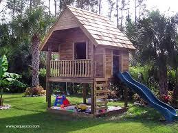 Kids Backyard Forts Casa Del Arbol Para Niños Buscar Con Google Jardin Pinterest