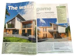design build magazine uk brilliant lighting featured in build it magazine february 2018