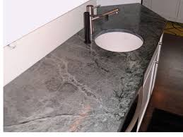 Soapstone Kitchen Sinks Soapstone Countertops With Round White Undermount Sink Capitol