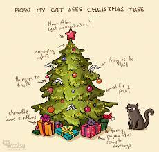 Christmas Tree Meme - catsu the cat christmas tree comic and cat