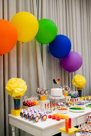 Rainbow Party Decorations 385 Best Rainbow Party Theme Images On Pinterest Rainbow Party
