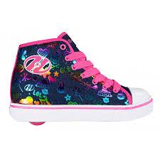 rainbow light up shoes heelys veloz dark denim rainbow kids heely shoe girls shoes sports