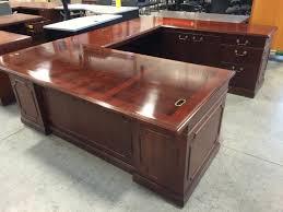 kimball president executive desk kimball president u desk 2 399 at quality used office furniture