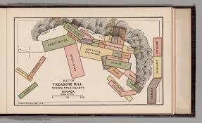 map of treasure hill white pine county nevada david rumsey