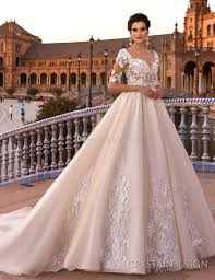 design a wedding dress blush royal princess gown a line wedding dresses 2017