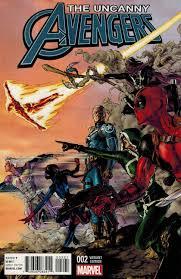 Uncanny Uncanny Avengers 2 1 25 Jimenez Variant Marvel 2015 Anad