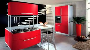 Red Kitchens With White Cabinets Baffling Design Red Kitchen Ideas Features Red White Colors