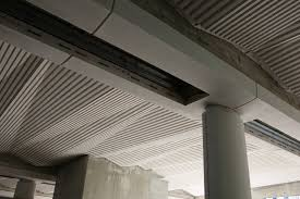 Concrete Ceiling Striking Architectural Ceilings Completed At Farringdon And