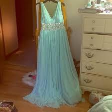 61 off my michelle dresses u0026 skirts tiffany blue prom dress