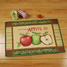 Apple Kitchen Rugs Yazi Vintage Apples Kitchen Rug Runner Soft Floor Carpet Anti Slip
