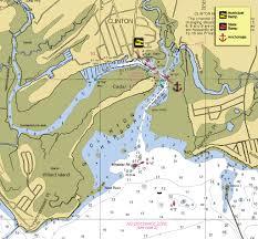 Block Island Map Focus On Clinton Connecticut New England Boating U0026 Fishing