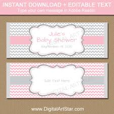 baby shower candy wrapper template printable chocolate wrappers