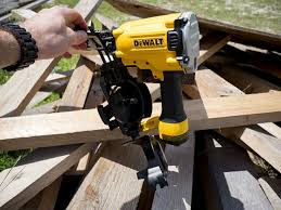 dewalt dw45rn coil roofing nailer pro tool reviews