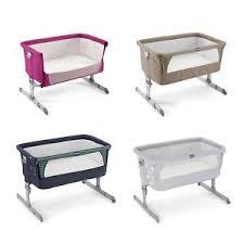 si e de table chicco chicco 2 me bedside co baby crib cot bed ebay