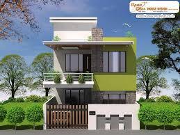 simple modern duplex house design square feet link home plans