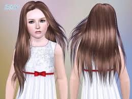 custom hair for sims 4 skysims hair 251