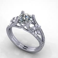 engagement rings flower design engagement ring flower design 12 engagement rings