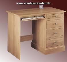 bureau chene massif moderne bureau en bois massif à tiroirs petit bureau en bois