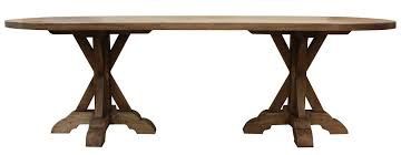Double Pedestal Dining Table Reclaimed Wood Double Pedestal Dining Table U2013 Mortise U0026 Tenon