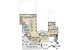 Mediterranean Floor Plan Mediterranean With Central Courtyard 36143tx Architectural