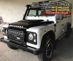 range rover defender 2018 2016 land rover defender 110 adventure highendcars ph