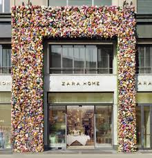 zara home special façade by thierry boutemy for salone del