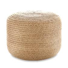 fra brna wb jute pouf ottoman braided indoor outdoor fresh