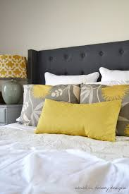Cheap King Size Upholstered Headboards by Sarah M Dorsey Designs Diy Headboard Complete