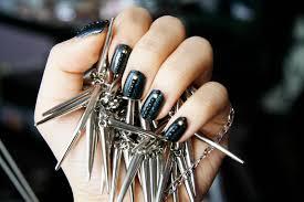 fun size beauty anti valentine u0027s day nail art