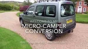 cheap peugeot for sale how to build a cheap micro campervan youtube